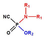 alquilfosforoamidocianidatos